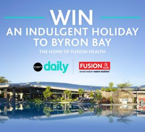 Network Ten – Fusion Health Consumer – Win a trip prize package for 4 to Elements of Byron Resort & Spa valued at up to $17,500