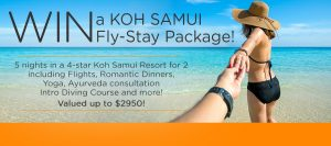 Our Vacation Centre – Win a 5-night Koh Samui Escape for 2 (flight and accommodation included)
