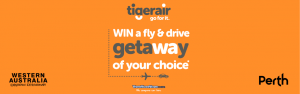Tiger Airways Australia – Win a Perth fly/drive experience of your choice valued at $3,060 OR 1 of 20 Instant win prizes