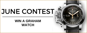 WorldTempus – Win a Graham chronofighter vintage pulsometer watch valued at CHF4,450
