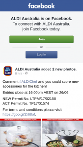 Aldi Australia – Win New Accessories for The Kitchen