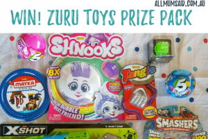 All Mum Said – Win a Zuru Toys Company Prize Pack Valued at $116 (prize valued at $116)