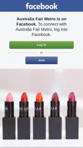 Australia Fair Metro – Win Your Own Custom Lipstick