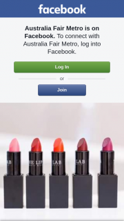 Australia Fair Metro – Win Your Own Custom Lipstick