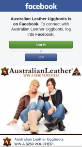Australian Leather Uggboots – Win a $250 Voucher (prize valued at $250)