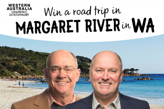 3AW – Win a Trip to Wa (prize valued at $10,000)