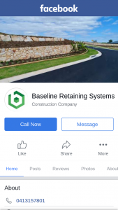 Baseline Retaining Systems – Win a $300 Cash Card (prize valued at $300)