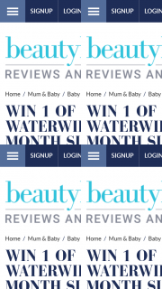 Beauty Heaven – Will Score Themselves a Six-Month Supply of Waterwipes – 24 Packs In Total