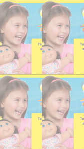 Big W-Cabbage Patch Kids – Win a Genuine One of Kind Cabbage Patch Kids 14″ Doll That Looks Like You (prize valued at $1)