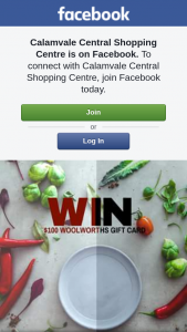 Calamvale Central Shopping Centre – Win a $100 Woolworths Gift Card