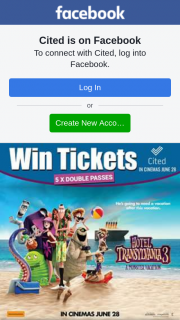 Cited – Win 1 of 5 Double Passes to See Hotel Transylvania 3