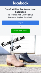 Comfort Plus Footwear – Win The (virtual) Cash Is Simple (prize valued at $100)