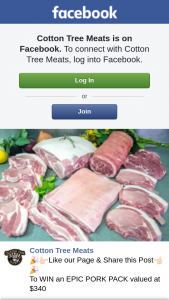 Cotton Tree Meats – Win an Epic Pork Pack Valued at $340 (prize valued at $340)