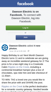 Dawson Electric – Competition