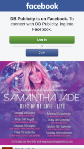DB Publicity – Win Tickets to See Samantha Jade Perform at Astor Theatre