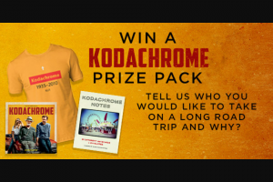 Dendy – Win 1 of 5 Kodachrome Prize Packs