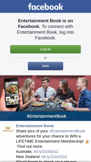 Entertainment Book – Win a Lifetime Entertainment Membership