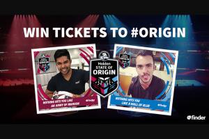 Finder – Win One of Five State of Origin Fan Packs