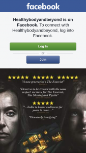 healthybodyandbeyond – Win a Double Pass to See Hereditary
