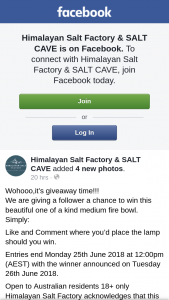 Himalayan Salt Factory & Salt Cave – Win this Beautiful One of a Kind Medium Fire Bowl