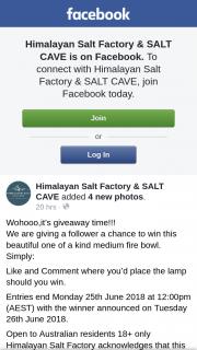 Himalayan Salt Factory & Salt Cave – Win this Beautiful One of a Kind Medium Fire Bowl