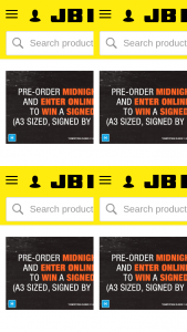 JB HiFi Preorder Midnight Oil 1984 on DVD & – Win a Signed Midnight Oil (prize valued at $50)