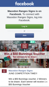 Macedon Ranges Signs – Win a $50 Bunnings Voucher