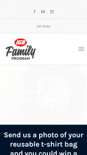 Metcash IGA Family- Make your own DIY T-shirt Bag & – Commences at 8am on Monday 25th of June 2018 (aest) and