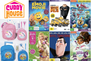 Mouths of Mums – Five DVD Prize Packs of Popular Kids Movies By Universal Sony Pictures Home Entertainment (prize valued at $205)