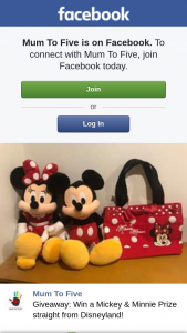 Mum to Five – Win a Mickey & Minnie Prize Straight From Disneyland