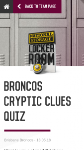 National Storage locker room – You Are Deemed to Have Read and Accepted Each of These Terms and Conditions