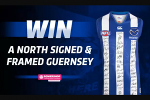 North Melbourne FooTBall Club Limited Powershop – Win The Prize (prize valued at $1,200)