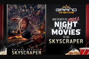 Nova 93.7 – Win Ticket to Nova's Night at The Movies 'skyscraper'