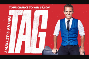 NovaFM Smallzy's Phone Tag – Win $1000 a Night Across Two Weeks With Smallzy's Phone Tagit's Pretty Simple … Smallzy Wants to Play a Game of Phone Tag With You … Pick Up The Call and Tag You're It