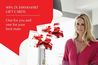 Perry Homes – Win 2 X $100 Gift Cards for Kmart With Your Best Mate (prize valued at $200)