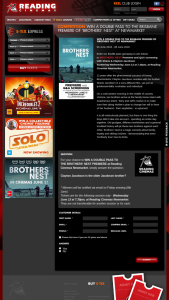Reading Cinemas Newmarket – Win a Double Pass to The Brothers' Nest Premiere at Reading Cinemas Newmarket