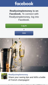 Really Simple Money – Win a Bottle of French Champagne