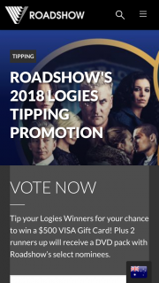 Roadshow – Win a $500 Visa Gift Card (prize valued at $110)