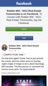 Robbie Witt – Win a $100 Bunnings Gift Voucher