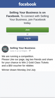 Selling Your Business – Win 2 Gold Class Tickets and a $50 Voucher for Nibbles