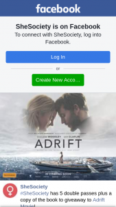 SheSociety – to Adrift Movie