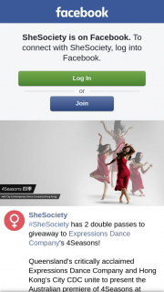 SheSociety – to Expressions Dance Company's 4seasons