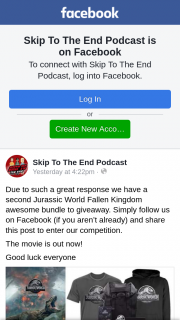 Skip to the End Podcast – Competition