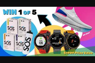 SOS Hydration – Will Be Randomly (prize valued at $1,909)