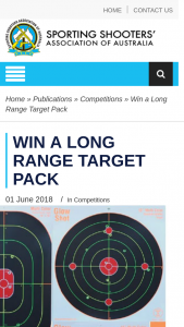ssaa – Win a Long Range Target Pack (prize valued at $157.8)