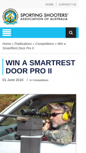 ssaa – Win a Smartrest Door Pro Ii (prize valued at $85)