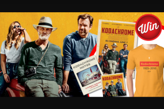 Stack Magazine – Win Two Merch Packs Including a Double Movie Pass to See Kodachrome