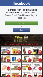 T-Bones Fresh Food Market – Win $100 Or $50 In-Store Credit