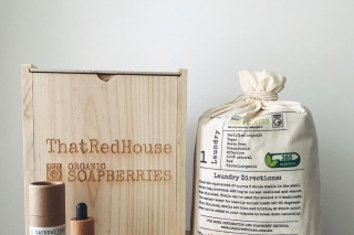That Red House Soapberries @sarahplustwoandjax – Win a 1kg Waste Free Timber Box of Organic Soapberries and a Clean Linen Laundry Tonic Valued at $74.95 (prize valued at $74.95)