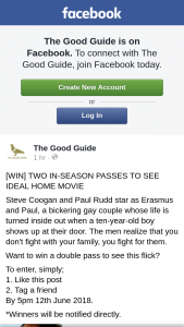 The Good Guide – Win a Double Pass to See this Flick